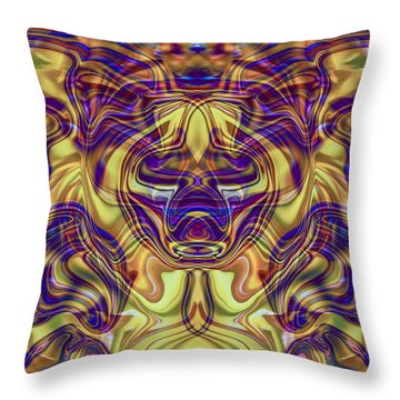 Rooted Throw Pillow by Omaste Witkowski