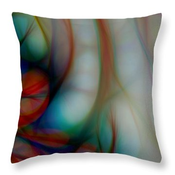 Roots Throw Pillow by Jacqui Boonstra