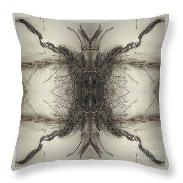 Roots Two Throw Pillow by Carina Kivisto