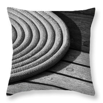 Rope Coil Throw Pillow