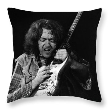Rory Gallagher 1 Throw Pillow