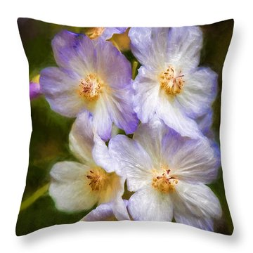 Rosa Canina Throw Pillow