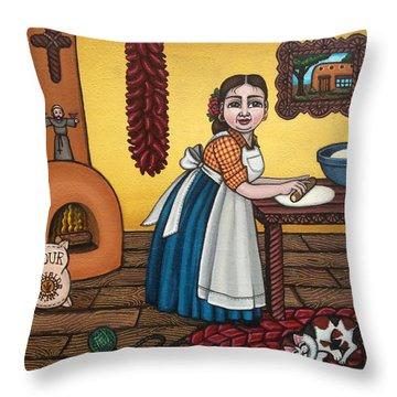 Rosas Kitchen Throw Pillow