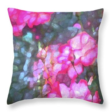 Rose 188 Throw Pillow by Pamela Cooper