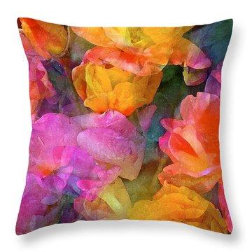 Rose 224 Throw Pillow