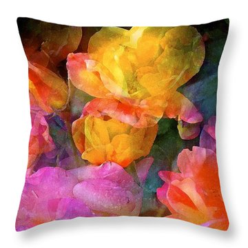 Rose 224 Throw Pillow
