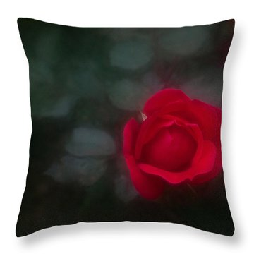 Throw Pillow featuring the photograph Rose 4 by Travis Burgess