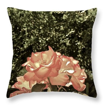 Rose 55 Throw Pillow