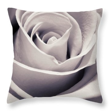 Rose Throw Pillow by Adam Romanowicz