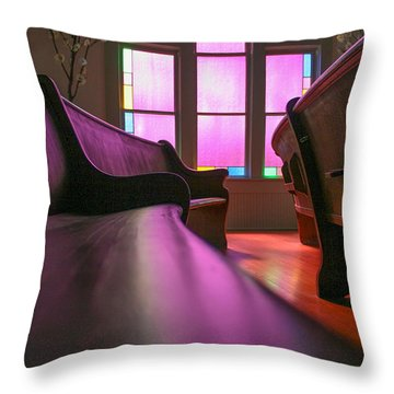 Rose Colored Glass 2 Throw Pillow