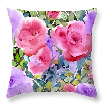 Pink And Purple Throw Pillows