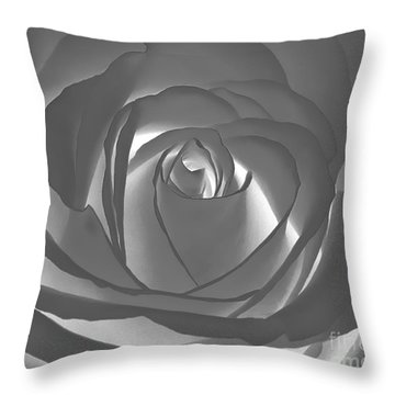 Throw Pillow featuring the photograph Rose by Geraldine DeBoer