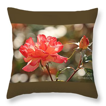 Rose Is Not Just A Rose Throw Pillow