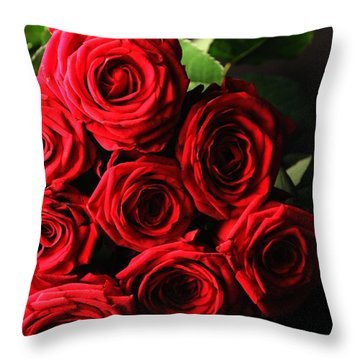 Throw Pillow featuring the photograph Roses 3 by Mariusz Czajkowski