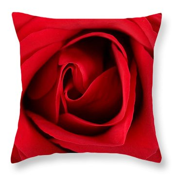 Roses For Life  Throw Pillow by Mark Ashkenazi