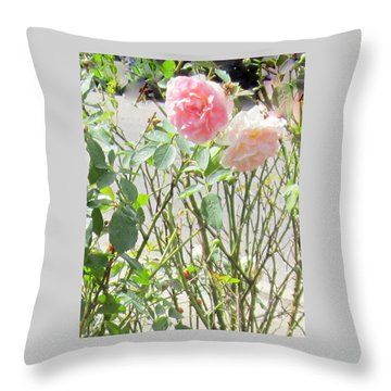 Missing You Greeting Card Throw Pillow