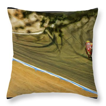 Rossi Though The Trees  Throw Pillow