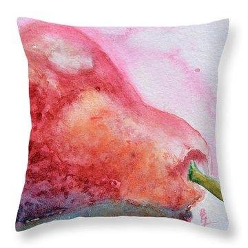 Rosy Aura Throw Pillow by Beverley Harper Tinsley