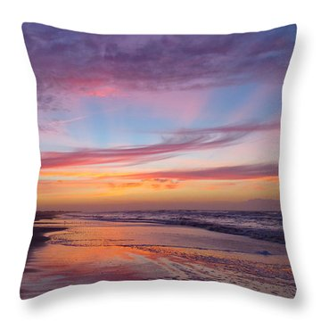 Rosy-fingered Dawn Throw Pillow