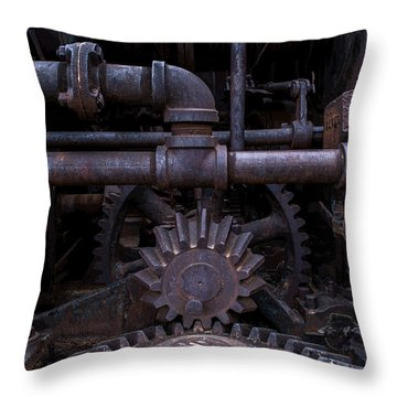 Throw Pillow featuring the photograph Rotary Tribute by Rhys Arithson