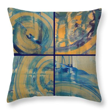 Throw Pillow featuring the photograph Rotation Part One by Sir Josef - Social Critic - ART
