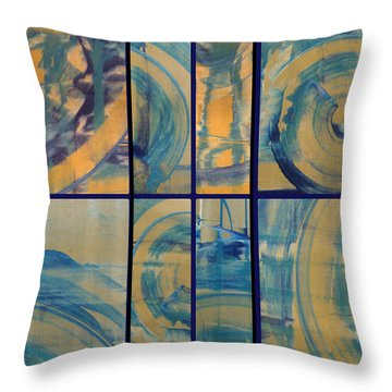 Throw Pillow featuring the photograph Rotation Part Two by Sir Josef - Social Critic - ART