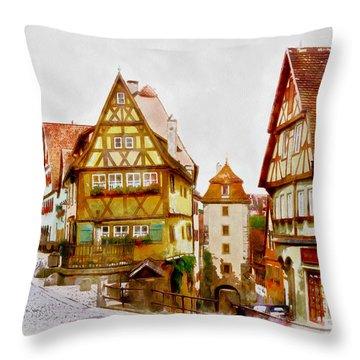 Rothenburg Throw Pillow