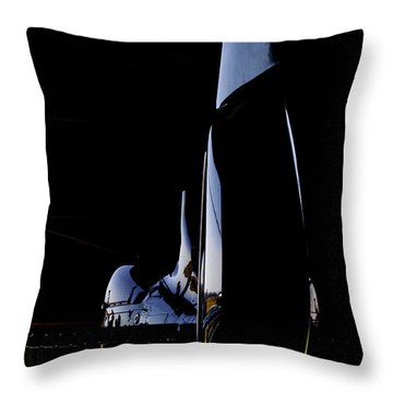 Rotor Tail  Throw Pillow
