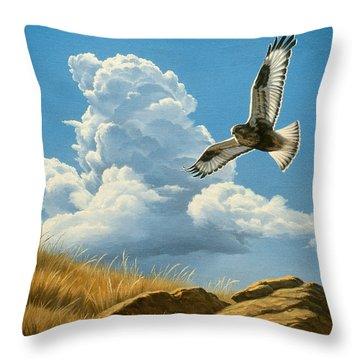 Hawk Throw Pillows