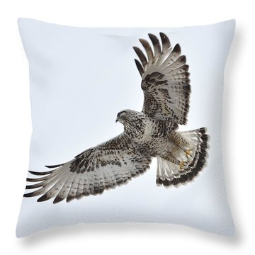 Roughy  Throw Pillow