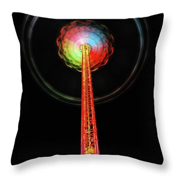 Round And Round  Throw Pillow by Hannes Cmarits