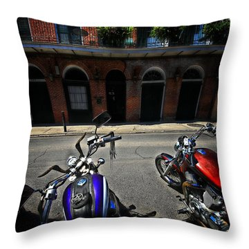 Round N Rounds Throw Pillow