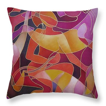 Rovati - The Welcoming Throw Pillow