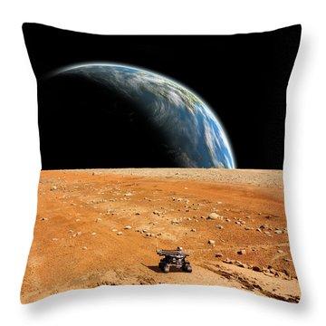Rover  Throw Pillow