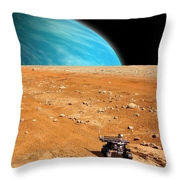 Rover No.2 Throw Pillow