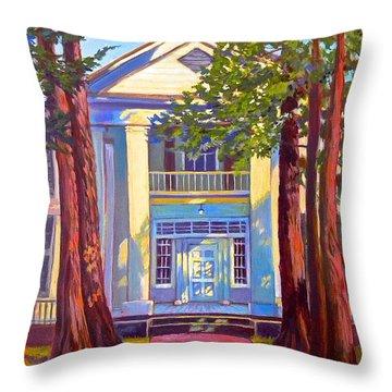 Rowan Oak Throw Pillow