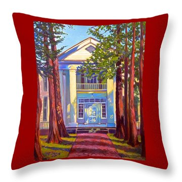 Rowan Oak Throw Pillow