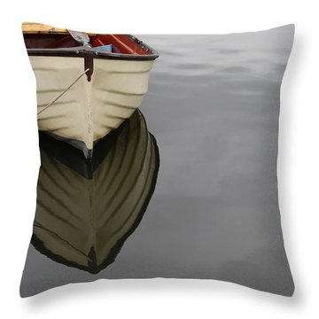 Rowboat Throw Pillow