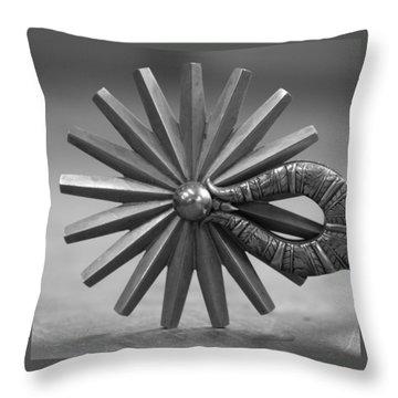 Rowel Throw Pillow