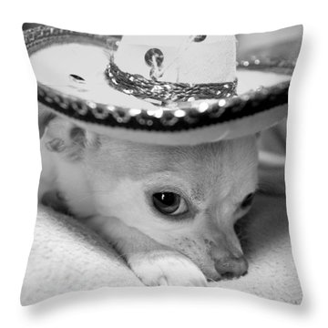 Roxie Throw Pillow by Glennis Siverson