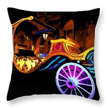 Royal Carriage Throw Pillow