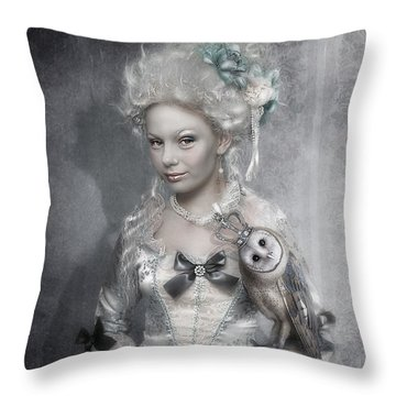 Royal Throw Pillow by Cindy Grundsten