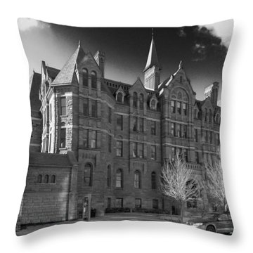 Royal Conservatory Of Music Throw Pillow