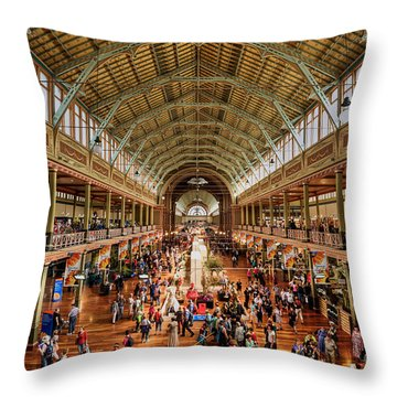 Royal Exhibition Building IIi Throw Pillow