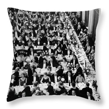 Royal Geographical Society Throw Pillow