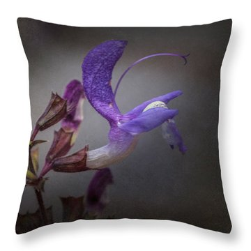 Royal Throw Pillow by Jacqui Boonstra