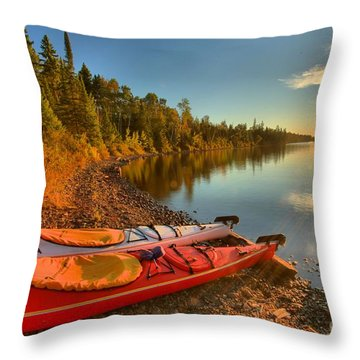 Royale Sunrise Throw Pillow