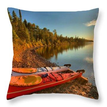 Royale Sunrise Throw Pillow
