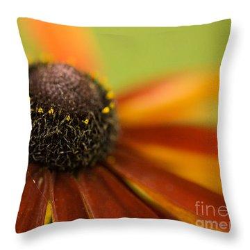 Rudbeckia  Throw Pillow