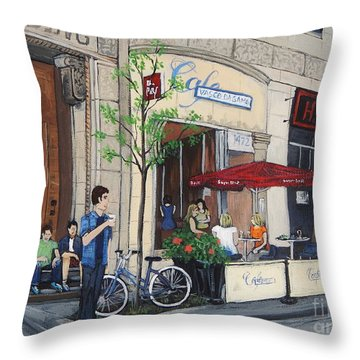Rue Peel Throw Pillow